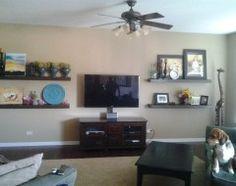 1000+ images about Picture arrangement on Pinterest | TVs, Shelves ...