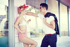 Get some 1950's inspiration from the Vanderpump Rules cast and their Pink Motel photoshoot!