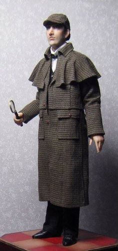 Sherlock Holmes doll - How cool is that?