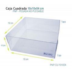 Caja de 10 x 10 x 4 cm