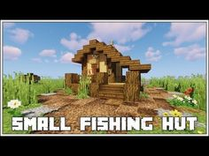 Today I am going to show you How to Build a Small Fishing Hut using Minecraft version Please enjoy the tutorial! Minecraft Poster, Craft Minecraft, Memes Minecraft, Skins Minecraft, Easy Minecraft Houses, Minecraft Houses Survival, Minecraft Medieval, Minecraft Construction, Minecraft Houses Blueprints
