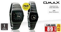 ED 89/- only! Omax Watch for Men & Women HB0793M0A2 / HB0794M072 Buy NOW>>>awok.co/UjrDFA