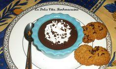 #Budino al #cioccolato fondente supercremoso!!