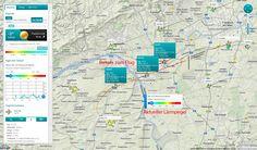 Das Live Flugradar zeigt die Überflüge über Rhein-Main und Rheinhessen an.