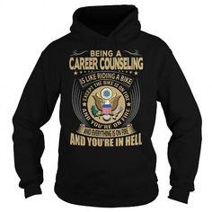 Career counseling Job Title T Shirts, Hoodies, Sweatshirts. GET ONE ==> https://www.sunfrog.com/Jobs/Career-counseling-Job-Title-104181986-Black-Hoodie.html?41382