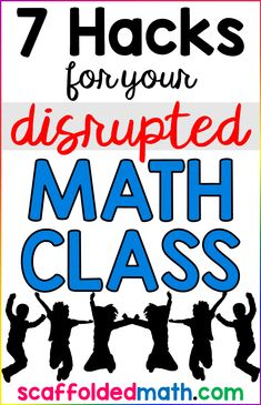 Your math class just settles down when, fire drill! Or assembly! Here are 7 hacks for a disrupted math class including 4 numbers, algebra templates, free math pennants, which one doesn't belong, math games like can you make it?, picture systems, and printable exit slips and prompts.