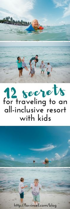 Oh! I wish I would have known most of these before we took our first trip to an all-inclusive resort!  These are great tips for traveling with kids.