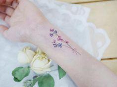 The 25+ best Larkspur tattoo ideas on Pinterest   Delphinium tattoo, July birth flowers and ...