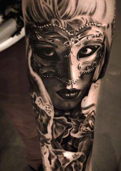 6dfdc1c94fbfcb1d041847318f8f78ce--venetian-mask-tattoo-venetian-masks.jpg (736×1040)