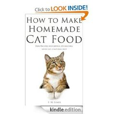 Cook for cats homemade cat food cat food and homemade how to make homemade cat food easy recipes and advice on feeding forumfinder Images