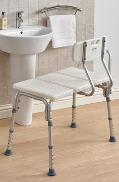 With a reinforced A-frame design the Bath Transfer Bench is a sturdy and secure bench ideal for use in a bath or shower.