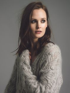 Genevieve Sweeney Knitwear campaign and look book Photography by me Model: Charlotte de Carle Make-up & Hair: Zoe Cornwell Mohair Sweater, Long Cardigan, Cable Knit Sweaters, Book Photography, Hand Knitting, Knitwear, Hair Makeup, Photoshoot, V Neck