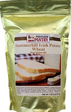 The Prepared Pantry Summer Hill Irish Potato Wheat Bread Machine Mix 22 Ounce Pack of 20 *** Read more reviews of the product by visiting the link on the image.(This is an Amazon affiliate link and I receive a commission for the sales)
