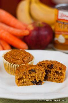 Magic Veggie Muffins   http://laurassweetspot.com