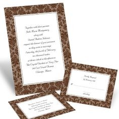 Ann's Bridal Bargains Wedding Invitations Photos on WeddingWire