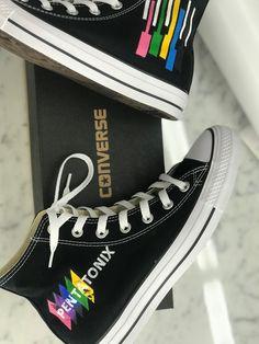 Custom Painted Pentatonix Shoes