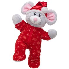 Snuggly Merry Mouse - Build-A-Bear Workshop US