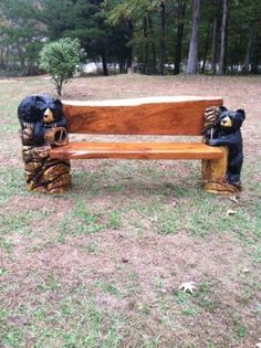 Outdoor Bench, Patio Furniture, Wildlife Bench, Bear Bench | Outdoor  Furniture | Pinterest | Bench, Patios And Bricks