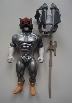 custom figure remco he-man zodac galaxy fighters heroes motu knock-off ko 80s  from $45.0