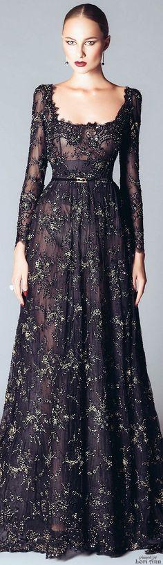 Alfazairy Couture Fall 2015
