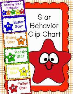 Behavior Clip Chart - Behavior Management - Stars 2, $
