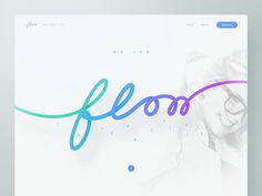 "Always wanted to do something like this :)  The INTERACTIVE letters below the flow have a function. Take a look at Design Disruptors by @aaron stump for @InVision and the ""Let me know"" button at th..."