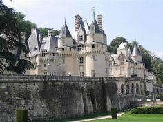 "Chateau D'usse, France---this is the chateau that inspired the fairy tale ""sleeping beauty"" truly this place is enchanted and holds a special place in my heart"