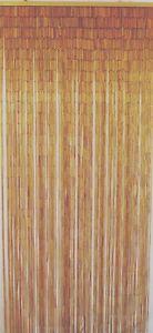 Natural-Bamboo-Beaded-Curtain-Natural-Beads-Window-Doors-Room-Divider-New