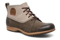 $120 SOREL MENS GREELY CHUKKA BOOTS/SHOES SUADE/LEATHER NWT #SOREL #AnkleBoots