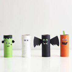 Vi tipsar om olika Halloweenpyssel 👻🎃 kolla in www.thinkorganic.se 🍂#thinkorganicse #pyssel #halloween #återbruk #hållbart