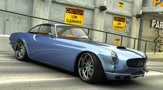 This is a modern update to the classic Volvo P1800. It has been redesigned and rengineered by the talent behind the  the Swedish-born designer who normally spends his days hand-assembling supercars for Koenigsegg