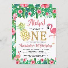 Elegant Birthday Party, 1st Birthday Party Invitations, Birthday Thank You Cards, Girl 2nd Birthday, Luau Birthday, 1st Birthday Parties, Birthday Ideas, Birthday Gifts, Happy Birthday
