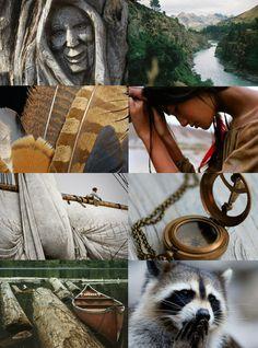 "Disney Heroine Aesthetics // Pocahontas ""Or do you still wait for me, dream giver? Just around the river bend. "" Esmeralda"