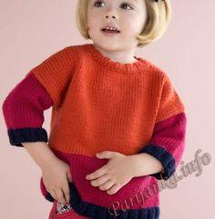 Пуловер (д) 14*127 Phildar №4705