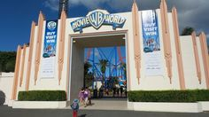 Entrance to Movie World on the Gold Coast in Queensland, Australia Travel With Kids, Us Travel, Family Travel, Queensland Australia, Hotel Reviews, Gold Coast, Adventure Travel, Entrance, Road Trip