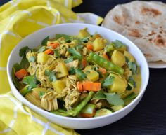 This jackfruit vegetable curry is bursting with flavour and texture and is something that will make vegans and meat eaters alike very happy! Fresh Turmeric, Fresh Ginger, Plum Pie Recipe, Vegan Store, Vegan Fish, Vegetable Curry, Canned Coconut Milk, Coriander Seeds, Curry Paste