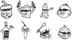 illegal burger - icons