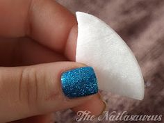 The Nailasaurus: 'Foil Method' Glitter Polish Removal Tutorial
