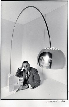 urbnite           - Arco Floor Lamp by Achille Castiglioni for FLOS