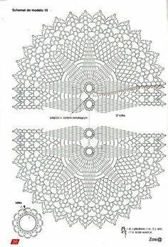 View album on Yandex. Japanese Crochet Patterns, Free Crochet Doily Patterns, Crochet Doily Diagram, Crochet Circles, Crochet Borders, Crochet Mandala, Crochet Squares, Crochet Chart, Crochet Doilies