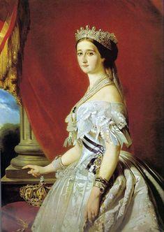 Empress Eugenie, 1853  Franz Xaver Winterhalter