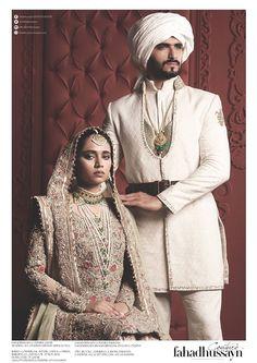Dulha Bhatti by Fahad Hussayn Groom Dress, Men Dress, Indian Wedding Couple, Blue Lehenga, Pakistani Bridal Dresses, Eid Collection, Wedding Poses, Indian Wear, Wedding Inspiration