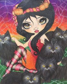 Jasmine Becket-Griffith halloween coloring book ❤️ I used prismacolor,Caran d ache luminance, atyou spica glitter pens and white gel pen #jasminebecketgriffithproject #jasminebecketgriffith #jasminebecketgriffithhalloween  #atyouspica #adultcoloring #coloringforadults #carandache #luminance  #prismacolor  #glitter #coloringbook #spicaglitter #bayan_boyan #arte_e_colorir #divasdasartes #fangcolourfulworld #colorindolivrostop #boracolorirtop #coloring_secrets #beautifulcoloring…