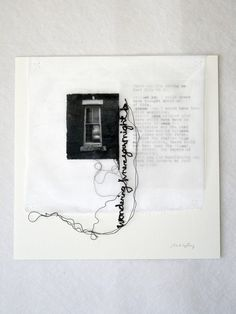 Stitched poetry with photography - Maria Wigley Sketchbook Layout, Sketchbook Inspiration, Mixed Media Collage, Collage Art, Mises En Page Design Graphique, Design Editorial, Photocollage, A Level Art, Visual Diary