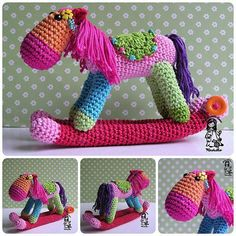 Funny rocking horse project on Craftsy.com