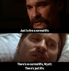 Tombstone is an adventurous film based on legends. It's hard to believe it was released 27 years ago because Tombstone Quotes still feel legendary. Film Quotes, Wisdom Quotes, Words Quotes, Sayings, Qoutes, Honesty Quotes, Leadership Quotes, Tombstone Movie Quotes, Tombstone 1993