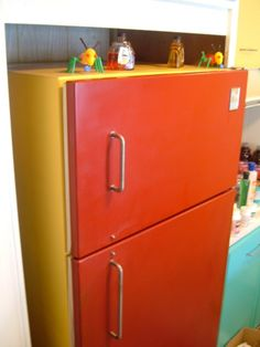 """Paint for Refrigerator Handles 