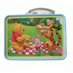 Disney Winnie the Pooh Tin Lunch Box