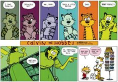 Calvin and Hobbes for July 21, 2013