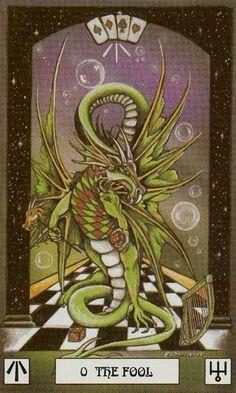 The Fool    DRAGON TAROT